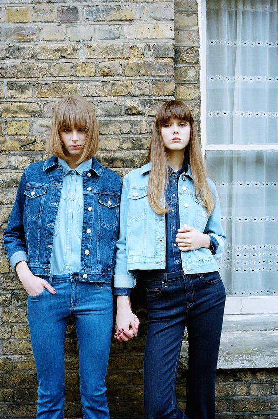 How to wear: Denim with Denim