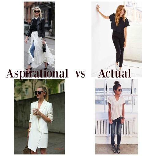 Aspirational vs Actual